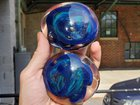 Silver opal paperweights